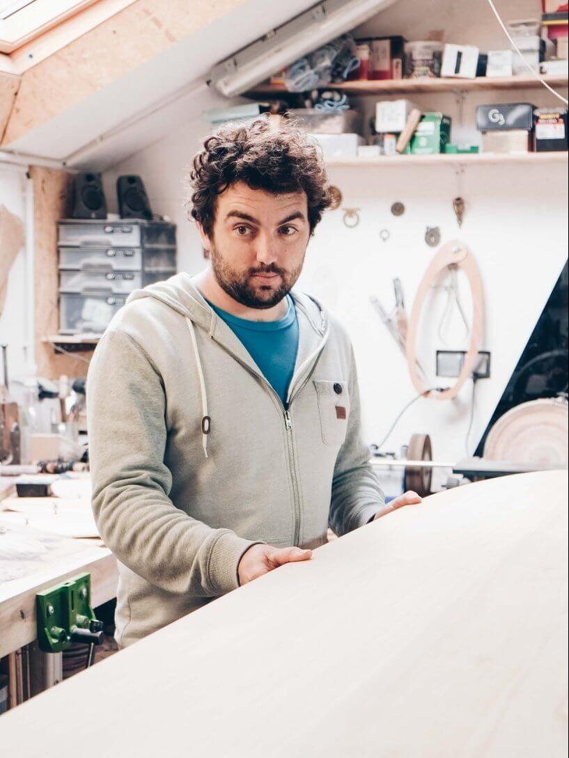 Gawood, le surf en bois eco-responsable du Finistère