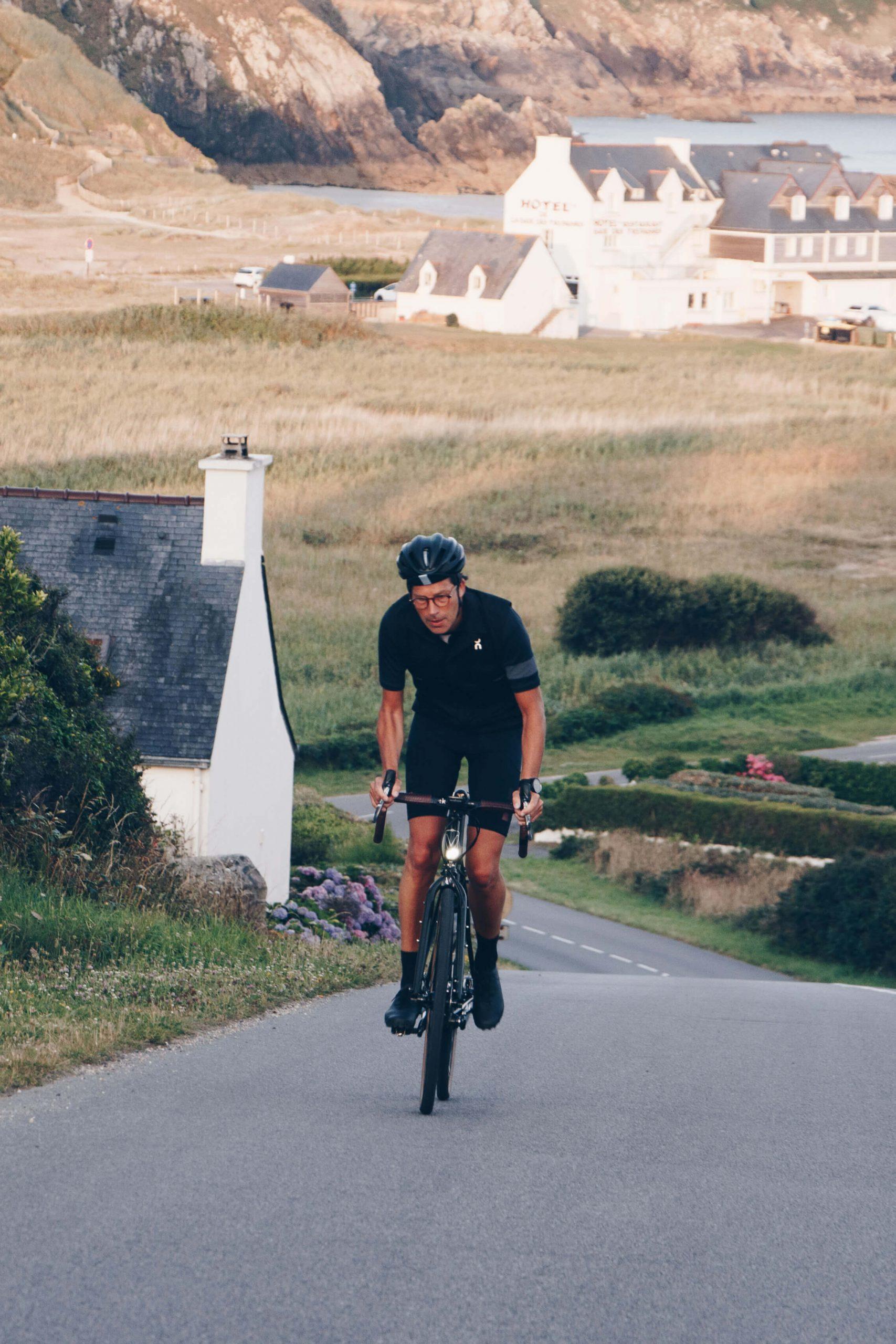 Chaque jour, l'aventure à vélo…